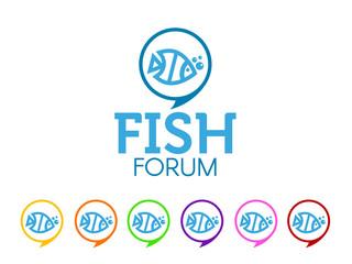 Fish forum logo