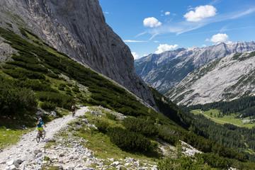 Mountainbike Stempeljoch Lafatscher Joch