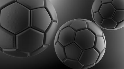 Piłka nożna. Ilustracja 3D. 3D CG. Wysoka rozdzielczość. - 119154639