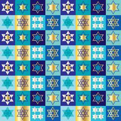 Jewish Stars pattern