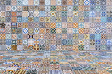Floor and wall tiles vintage.ceramic tiles patterns
