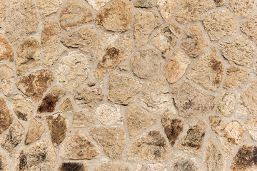 Background with vintage stones wall