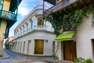 Fotomurales - Beautiful Colonial Architecture