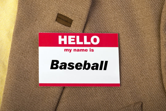 My Name is Baseball.