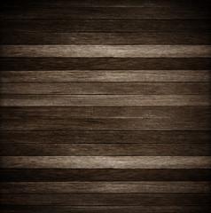 Wooden wall texture background; Dark old wood background
