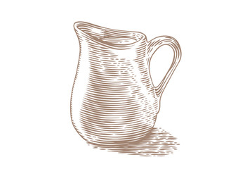 Small milk pitcher