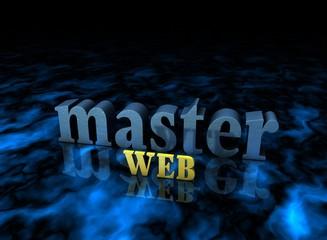 Web Master, Typography