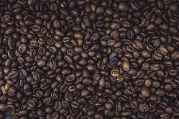 Coffee with background. Close up.
