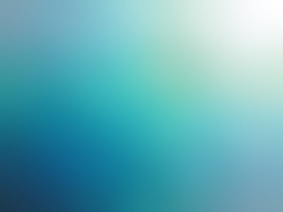 Abstract gradient turquoise blue teal white colored blurred back