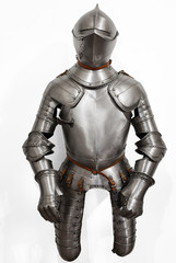 The armor in the Renaissance style