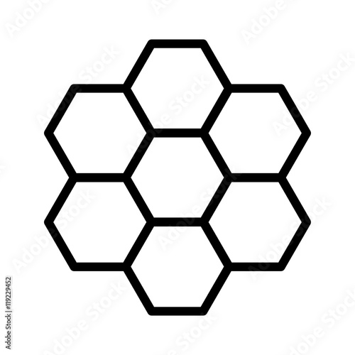 quot honeycomb   honey comb hexagonal pattern line art icon honeycomb clipart frame honeycomb clip art png