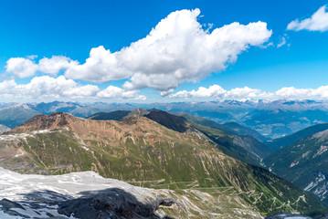 High mountains Alps Austria