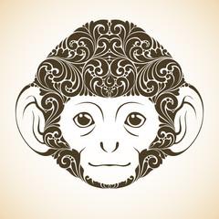 Ornamental decorative monkey