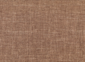 Brown canvas fabric texture