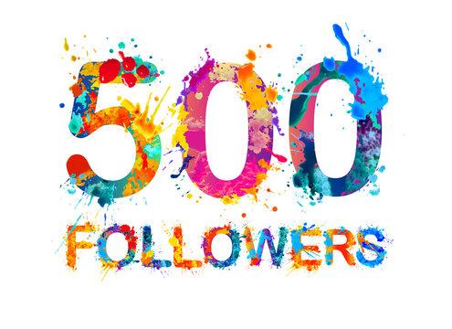 500 (two thousand) followers.
