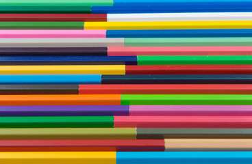 Colors pencils, colorful many crayons .background.