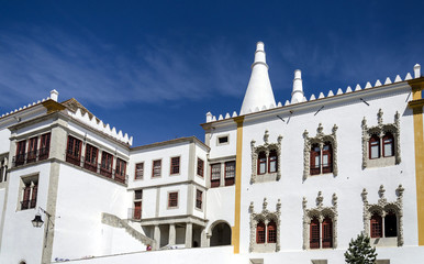 National Palace of Sintra, near Lisbon, Portugal