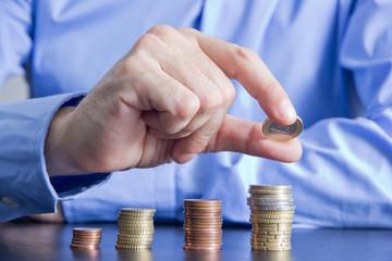 soldi, guadagni, spese, denaro, monete