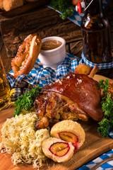 oktoberfest pork with Sauerkraut