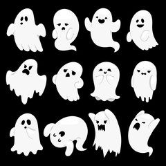 Ghost character vector characters.