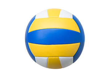 Volleyball isolated on white background