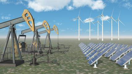 Erdölindustrie versus Erneuerbare Energien