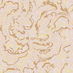 pattern with the image texture of smoke beige, brown and ocher shades.