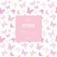 Cute template for scrapbook girly design.