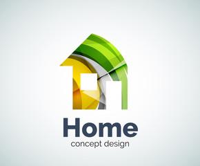 Home real estate logo template
