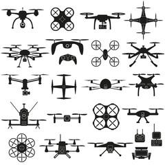 Drone vector set.