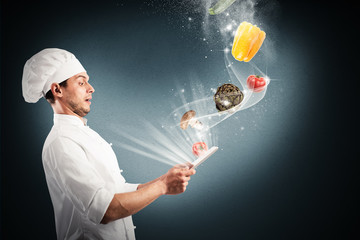 Magic cooking recipes on the web