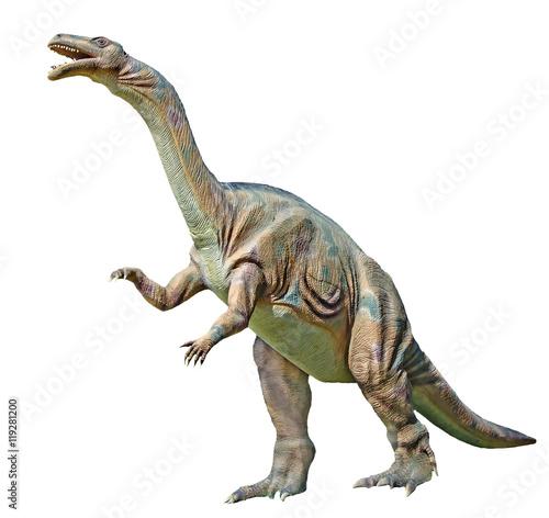 Close up of Plateosaurus dinosaur