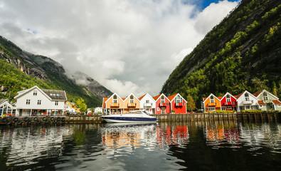 Poster Europa Modalen village, Norway