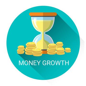 Money Growth Business Economy Icon