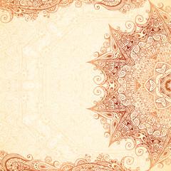 Vintage vector hand-drawn background.
