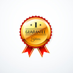 1 year guarantee gold label