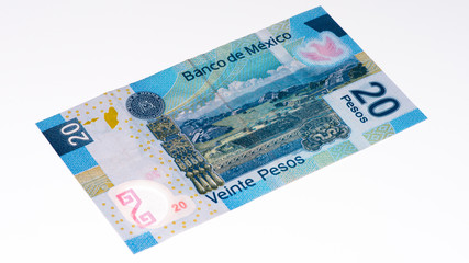 South America currancy banknote