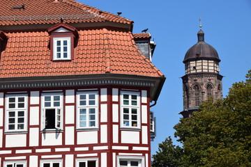 Göttinger Altstadt mit Jacobiturm