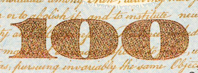 USA currancy banknote