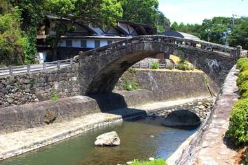 重盤岩眼鏡橋