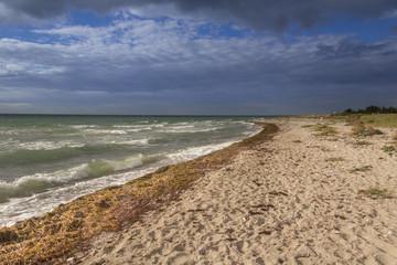 Ostseestrand auf Fehmarn, Deutschland