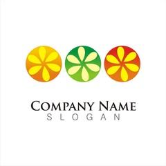 fruit juice logo template