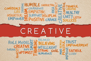 Creative, business management value/motivational concepts