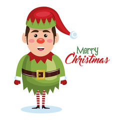 elf christmas character icon