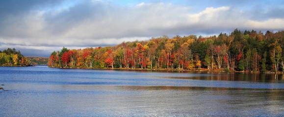 Autumn On Tupper Lake