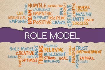 Role Model, business management value/motivational concepts