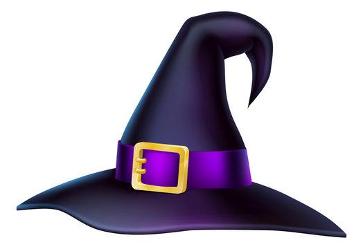 Cartoon Halloween Witch Hat