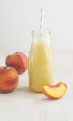 Peach fruit smoothie