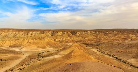 Mountains in Negev desert