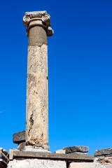 Single ancient column from Ephesus City